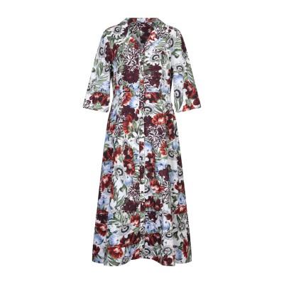 アーデム ERDEM ロングワンピース&ドレス ホワイト 18 コットン 100% ロングワンピース&ドレス