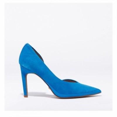 リース Reiss レディース パンプス シューズ・靴 Alena Court Ld99 Blue Suede