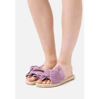 レディース 靴 シューズ PLAGE - Mules - lavande