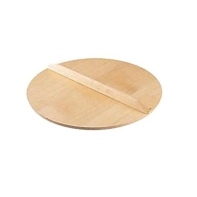 日本製 スプルス材 使用 木蓋 (木 ふた/鍋 フタ) 24cm用 いろり鍋 ・ ぎょうざ鍋 ・ すき焼鍋 ・ セイロ などの 鍋蓋 落とし
