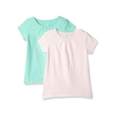Carter's カーターズ キッズ 子供用 ファッション 子供服 Tシャツ 2-pack Tee - Light Pink/Mint