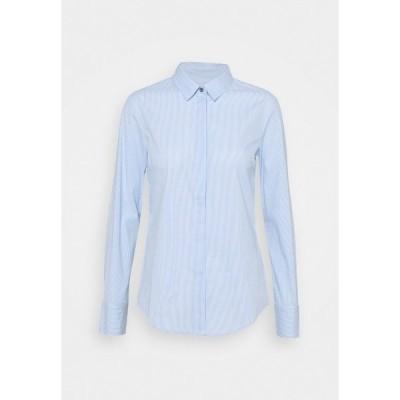 マックス アンド コー シャツ レディース トップス MESTRE - Button-down blouse - sky blue pattern