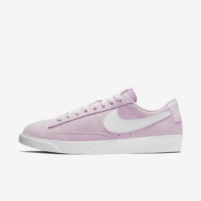 ナイキ NIKE ブレーザー Blazer Low SD Suede Casual Shoes レディース AV9373-600 ロー スエード スニーカー Pink White