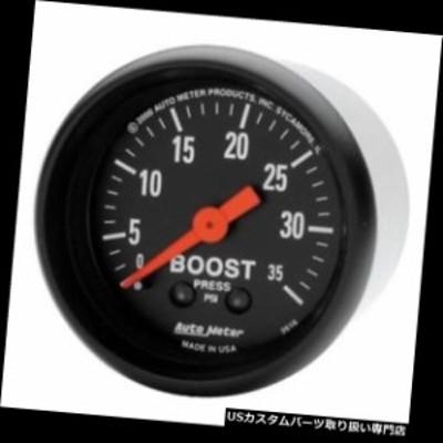 タコメーター オートメーター2616 Zシリーズメカニカルブーストゲージ、35 PSI、2?1/16インチ  Auto Met