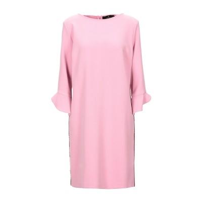 COMPAGNIA ITALIANA ミニワンピース&ドレス ピンク 42 ポリエステル 68% / レーヨン 28% / ポリウレタン 4% ミニ