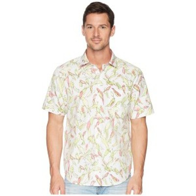 トッミーバハマ メンズ シャツ トップス Loro Fiesta Camp Shirt White