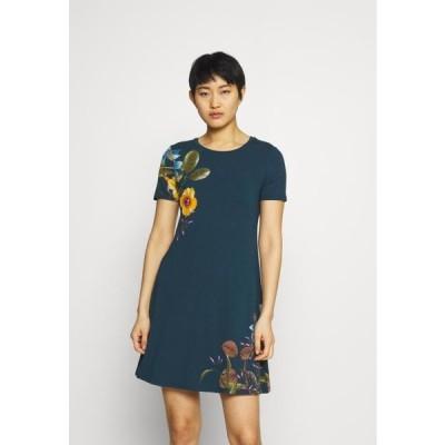 デシグアル レディース ファッション LAS VEGAS - Jersey dress - blue