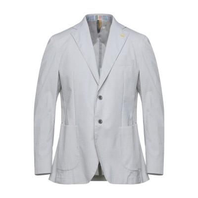 HARMONT&BLAINE テーラードジャケット ライトグレー 50 コットン 84% / ナイロン 14% / ポリウレタン 2% テーラードジ
