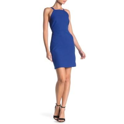 エヌ・エス・アール レディース ワンピース トップス Diana Sleeveless Mini Dress ROYAL