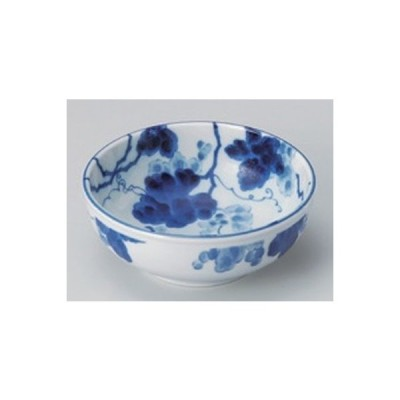 和食器 / 盛鉢 小 藍染ぶどう4.5ボール 寸法:13.5 x 5.2cm