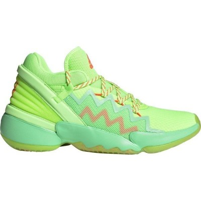アディダス スニーカー シューズ メンズ adidas Men's D.O.N. Issue 2 Basketball Shoes Yellow/Green