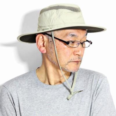 サファリハット メンズ HENSCHEL アメリカ 帽子 10Point Hats UPF50+ ヘンシェル メンズ レディース UVカット 春 夏 アドベンチャーハット メンズ タン