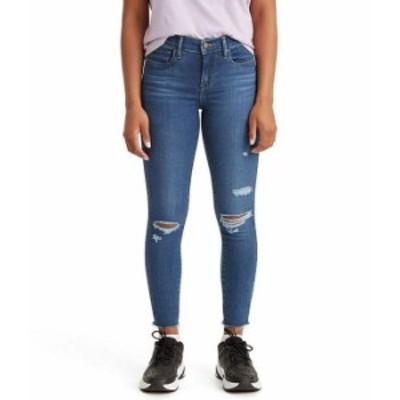 リーバイス レディース デニムパンツ ボトムス Levi'sR 710 Destructed Mid Rise Super Skinny Jeans Toronto Attitude