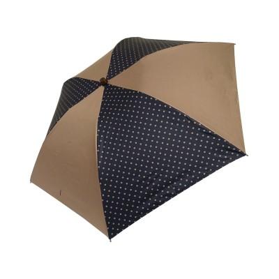 【オンワード】 +RING>ファッション雑貨 【プラスリング】【数量限定】レディース向け 晴雨兼用(折) 遮光 BRN-DOT T945 ブラウン F レディース 【送料無料】
