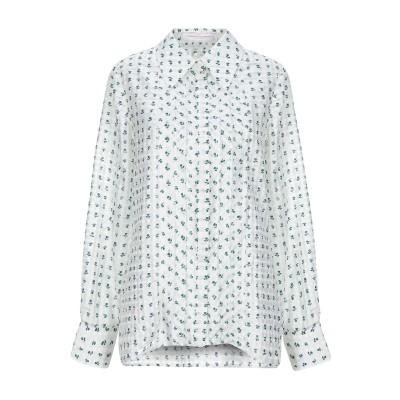 CAROLINA HERRERA シャツ ホワイト 10 シルク 100% シャツ