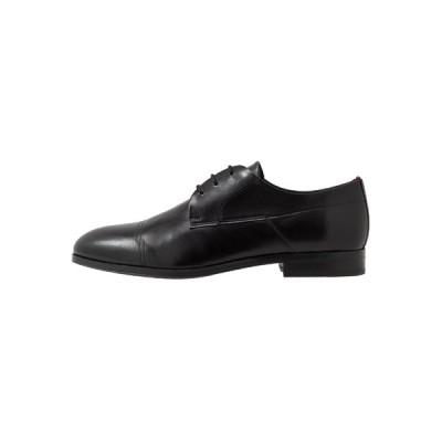 フューゴ ドレスシューズ メンズ シューズ BOHEME - Smart lace-ups - black