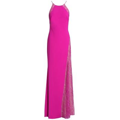 BADGLEY MISCHKA ロングワンピース&ドレス ガーネット 12 ポリエステル 98% / ポリウレタン 2% ロングワンピース&ドレス