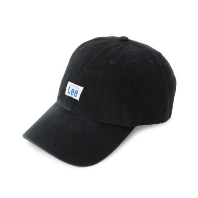 シューラルー SHOO-LA-RUE 【Lee】コットンツイルローキャップ (ブラック)