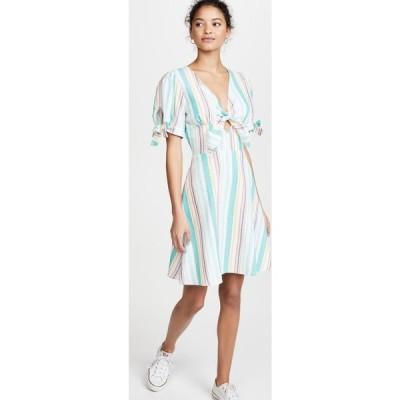 レリューム leRumi レディース ワンピース ワンピース・ドレス Ana Dress Multi Stripe