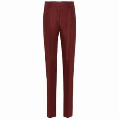 ヴァレンティノ その他ボトムス・パンツ Wool and mohair straight pants