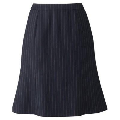 ボンマックス BONMAX Progress AS2282-28 マーメイドスカート ネイビー×ブルー (5〜19) 春夏 秋冬 オフィスウェア 事務服