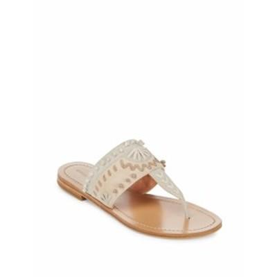 シガーソンモリソン レディース シューズ サンダル Aliya Slip-On Leather Sandals