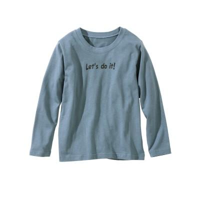 プリント長袖Tシャツ(男の子・女の子 子供服・ジュニア服) (Tシャツ・カットソー)Kids' T-shirts