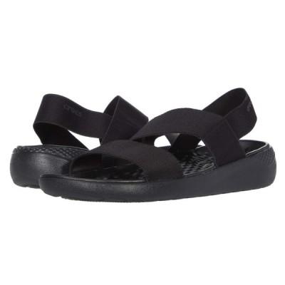 クロックス Crocs レディース サンダル・ミュール シューズ・靴 LiteRide Stretch Sandal Black/Black