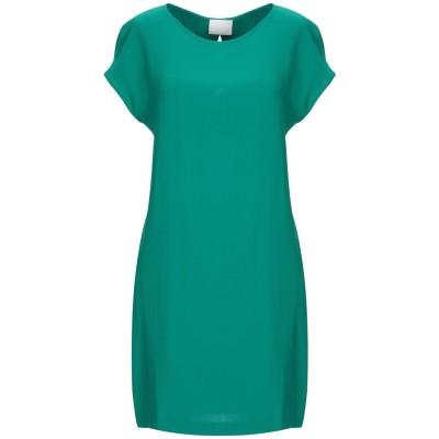 ゴータ GOTHA ミニワンピース&ドレス グリーン 2 レーヨン 96% / ポリウレタン 4% ミニワンピース&ドレス