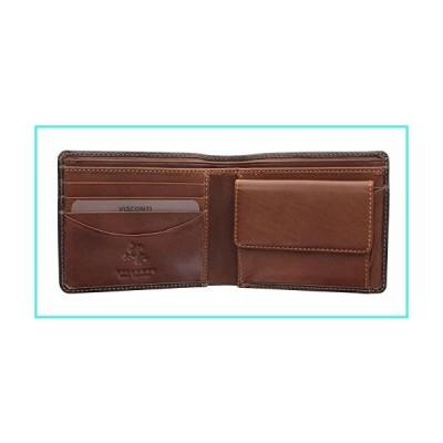 【新品】Visconti Raffle TORINO TR-30 Top Quality Leather Classic Bifold Wallet Brown(並行輸入品)
