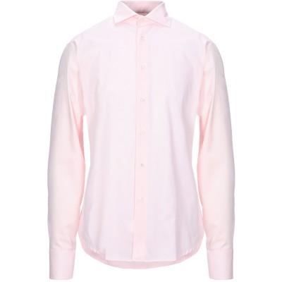 ブライアン デールズ BRIAN DALES シャツ ピンク 42 コットン 100% シャツ