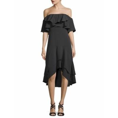 ウォルターベイカー レディース ワンピース Patti Ruffled Off-The-Shoulder Dress