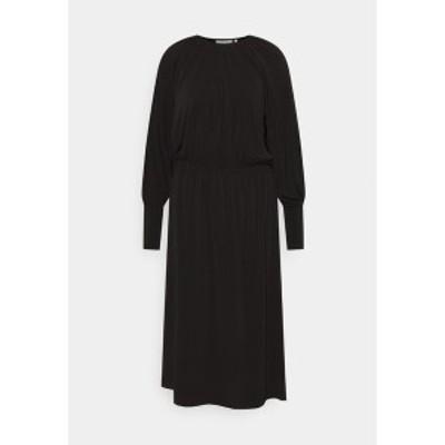 インウェア レディース ワンピース トップス HOLDENIW DRESS - Jersey dress - black black