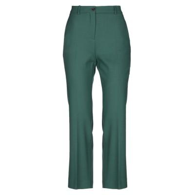 SLOWEAR パンツ グリーン 38 バージンウール 97% / ポリウレタン 3% パンツ