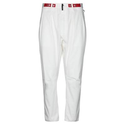 POLIQUANT パンツ ホワイト 2 コットン 95% / ポリウレタン 5% パンツ