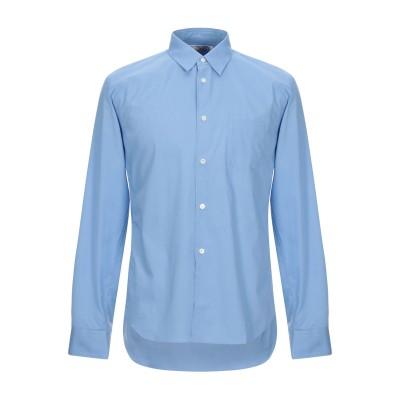 COMME des GARÇONS SHIRT シャツ アジュールブルー M コットン 100% シャツ