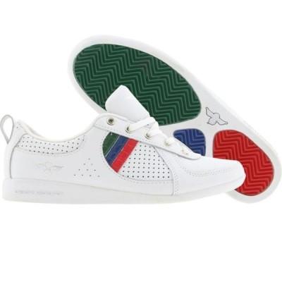 クリエイティブレクリエーション レディース シューズ  Creative Recreation Womens Galow (white / red / blue / green / cr)