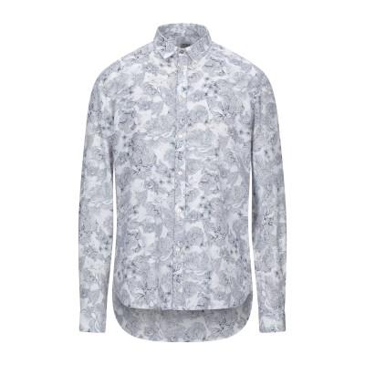 OFFICINA 36 シャツ ホワイト S コットン 80% / リネン 20% シャツ