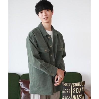 アウター 【PairPair1周年限定アイテム】コーデュロイCPOビッグジャケット