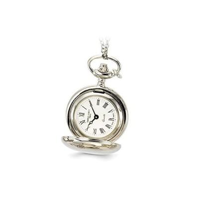 "Sonia Jewels Ladies Charles Hubert Chrome Finish Brass Pendant Watch 28""[並行輸入品]"