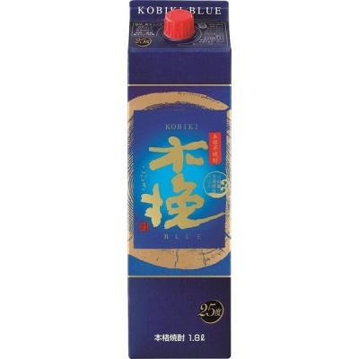 ギフト プレゼント ハロウィン 芋焼酎 1回のご注文で12本まで 25度 木挽BLUEパック 芋 1.8Lパック 1本 宮崎県:雲海酒造