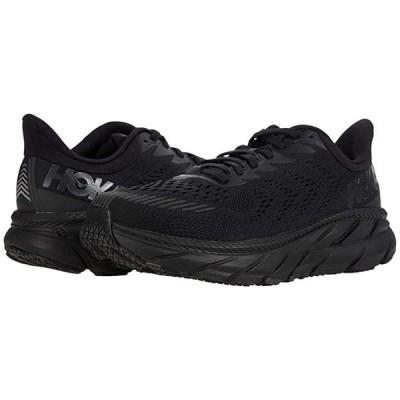 Hoka One One Clifton 7 メンズ スニーカー 靴 シューズ Black/Black