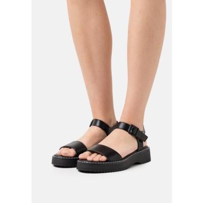 マッデンガール レディース 靴 シューズ HARIS - Platform sandals - black
