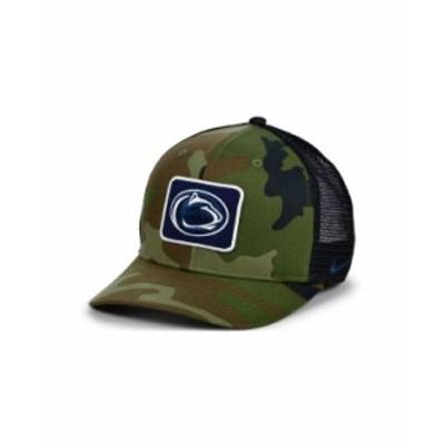 ナイキ レディース 帽子 アクセサリー Penn State Nittany Lions Camo Trucker Cap Camo/Black