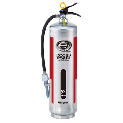 バーストレス消火器(蓄圧式)ステンレス製 機械泡消火器 ARMFE-6S リサイクルシール付き 初田製作所