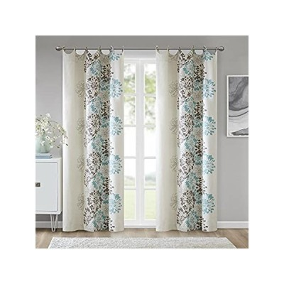 Madison Park Anaya Curtain Grommet Tops Thermal Insulated Window Panel for