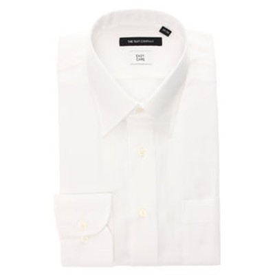 レギュラーカラードレスシャツ 織柄 〔EC・BASIC〕