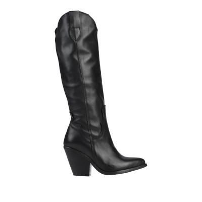 DIVINE FOLLIE ブーツ ブラック 37 革 ブーツ