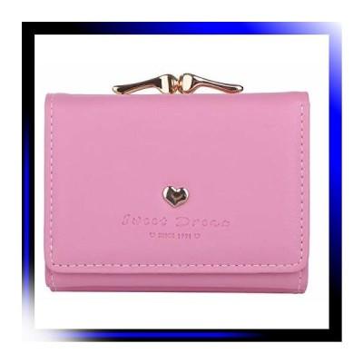 ライトピンク エンジェルムーン 三つ折り財布 レディース おしゃ