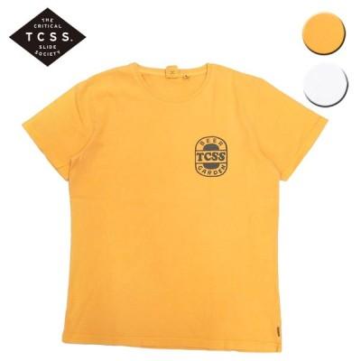 TCSS ティーシーエスエス Tシャツ 半袖 JIMS BEER GARDEN S/S TEE メンズ レディース イエロー アイボリー OOO